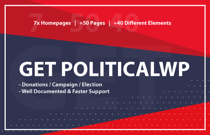PoliticalWP - Multipurpose Campaign, Election WordPress Theme - 4