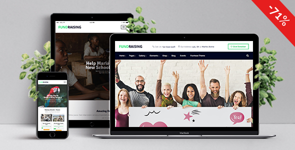 Fundraising – Ultimate Charity/Donations WordPress Theme